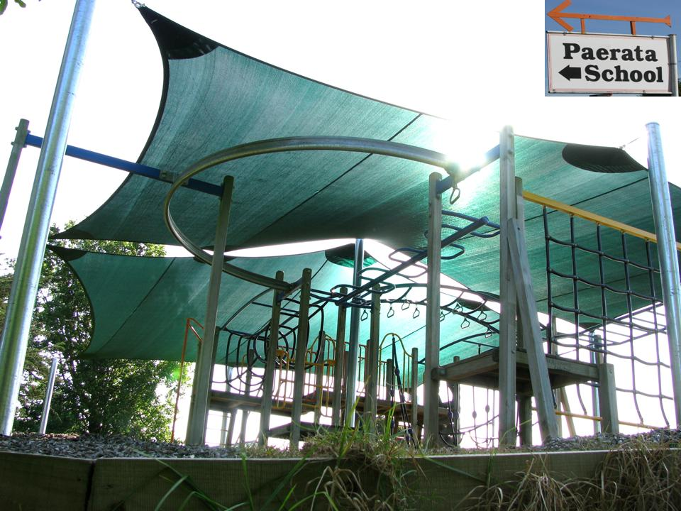 shade sail playground